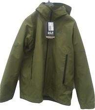 Mens Jack Wolfskin 3 In One System Coat-sienna Trail/cyprus Green Size 40-42