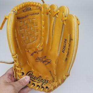 "Rawlings Ken Griffey Jr. Baseball Glove RBG36 RHT 12.5"" Fastback Model Brown"