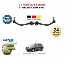 VW TOUAREG 2.5TD 3.0TD 3.2 3.6 4.2 5.0TD 2002-> 2 x REAR STABILISER LINK BAR SET