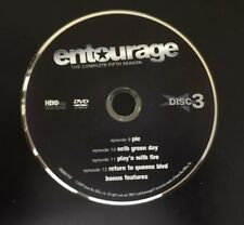 Entourage Season 5 Disc 3 Replacement Disc Only Loose Disc Free shipping