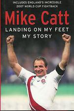 Mike retour bain angleterre & british lions rugby livre-atterrissage sur mes pieds 2007