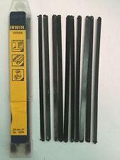 """Irwin junior hacksaw blades 1 X 10pkt 150mm 6"""" Hss metal, copper plastics"""