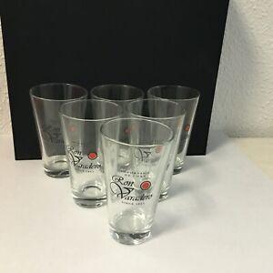 6 x Ron Vavadero Rum Gläser Longdrink ohne Eichstrich -NEU-