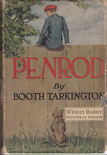 Booth Tarkington - Penrod - 1st Photoplay Edition 1923 in RARE Original D/W