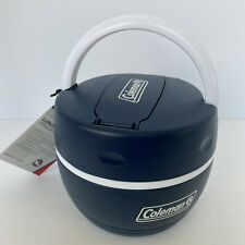 Coleman Blue Insulated Plastic Lunch Box/Cooler Jug; Hot /Cold - New with Tags
