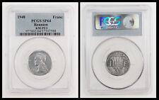 REUNION 1 Franc 1948 PCGS SP64 Essai PIEFORT Mtg.104 Rare!