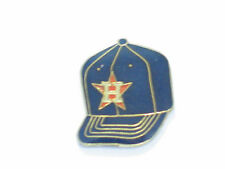 Houston Astros Baseball Cap Pin,  Vintage Enamel Lapel Pin