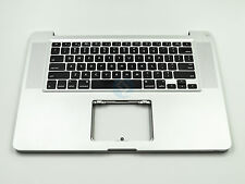 "USED Top Case Topcase Keyboard for MacBook Pro 15"" A1286 2011 2012 No Trackpad"