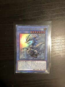 Yugioh - Sauravis, the Ancient and Ascended - DUOV-EN075 - Ultra Rare 1st Ed NM