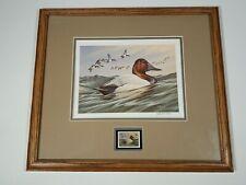 1992 Ducks Unlimited SOUTH DAKOTA Waterfowl Stamp & Print JOHN S WILSON