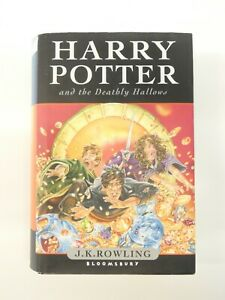 Harry Potter and the Deathly Hallows by J. K. Rowling, Hardback, 2007, 1st Ed