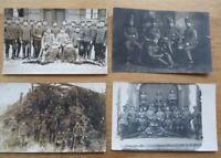 4 Fotos Husaren Regiment / Husaren im Feld 1. WK