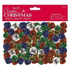 Create Christmas (Papermania) - Decorative Jingle Bells - Gold (60pcs)