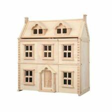 PlanToys Victorian Dollhouse Brown - Pt7124