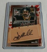 JAY MILLER - 2011 IN THE GAME ITG - ENFORCERS - AUTOGRAPH -