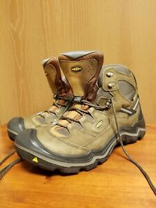 Mens Keen US Dry,  Waterproof,  Hiking Work Brown Leather Boots US Size 13