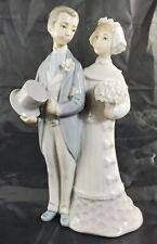 Lladro Porcelain Figurine The Wedding 4808 4th Mark Julio Fernandez Man & Woman