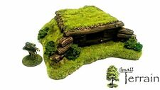 Wargames Terrain 28mm Resin Log Bunker - Bolt Action  PRE-PAINTED