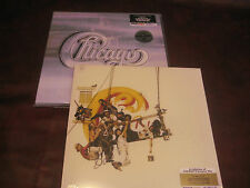 CHICAGO CHICAGO II FACTORY Sealed AUDIOPHILE 2 LP SET OUT OF PRINT + HITS LP