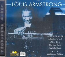 LOUIS ARMSTRONG + History (1) + CD + Tolles Album mit 20 starken Songs + Blues +