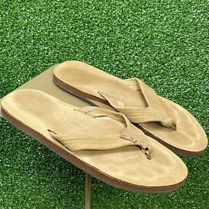 Rainbow Sandal Sierra Single Layer Premier Leather Sandal 11 1/4 Inche = 10.5 US