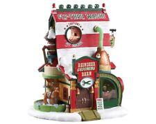 Lemax Reindeer Grooming Barn Weihnachtsdorf Winterdorf Modellbau