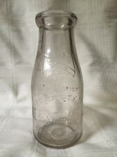 Old Vintage Pint Milk Bottle Kee And Chapell Dairy Chicago And Illinois
