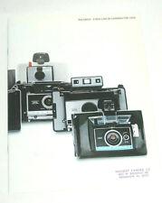 EX COND! 1969 Polaroid 320, 330, 340, 350, 360, Big Swinger Camera Sales Catalog