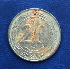 Algeria 20 centimes 1987