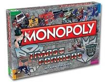 NEW TRANSFORMERS MONOPOLY BOARD GAME RETRO EDITION FREE POST RRP £29.99 HASBRO