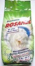 30kg Rosanel Waschmittel Waschpulver 30°C-95°C 6 x 5kg Beutel *versandfrei*