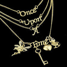 Once Upon a Time Theme Song Necklace 4 in One Super Quality there was once cas: C
