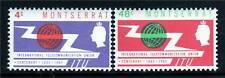 Montserrat 1965 I.T.U.Centenary SG158/9 MNH