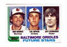 1982 Topps Bob Bonner/ Cal Ripken/ Jeff Schneider Baltimore Orioles #21 Baseball Card