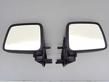 86 - 97 NISSAN NAVARA D21 HARDBODY UTE TRUCK PAIR SIDE DOOR MIRROR SAIL MOUNT