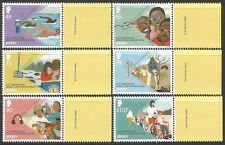 Jersey 2017 MNH Lions Club International 100th Ann 6v Set Swimming Trees Stamps