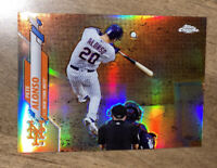 2020 Topps Chrome Pete Alonso SP Variantion Refractor