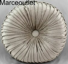 "J. Queen New York Sicily Pearl Tufted 15"" Round Decorative Pillow"