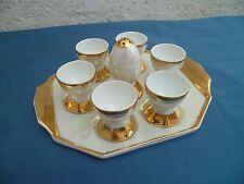 Service à œufs en porcelaine ancienne de Tchécoslovaquie  Art-déco 1930/40