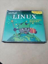 Vintage 1996 InfoMagic Linux Developers Resource 6-Disc CD Set