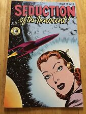 1985 ECLIPSE HORROR COMIC BOOK SEDUCTION OF THE INNOCENT PART 2 OF 3 ROCKET SHIP
