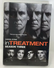 IN TREATMENT TV SERIES COMPLETE SEASON THREE 3 New Sealed 4 DVD Set