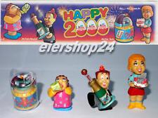 Kompletter Satz HAPPY 2000 inkl. aller 4 BPZ !!!