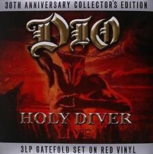 Dio - Holy Diver 30th Aniversary Collectors Edition 3lp Red Vinyl Album