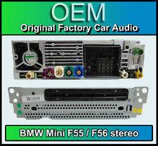 BMW Mini SAT NAV reproductor de CD, BMW F55 F56 estéreo, navegación por satélite, radio DAB