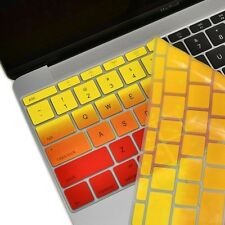 """Yellow & Red Faded Ombre Keyboard Cover Skin for Macbook 12""""with Retina A1534"""