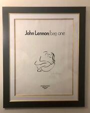 """John Lennon Signed Original Lithograph """"Bag One"""" 16/300 """"Frontispiece"""""""