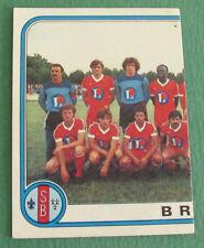 N°56 EQUIPE TEAM PARTIE 1 BREST STADE BRESTOIS SB PANINI FOOTBALL 83 1982-1983