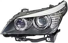 HELLA Bi-Xenon Headlight Left Fits BMW 5 E61 E60 Sedan Wagon 7177755