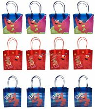 Elmo Goody Bag Party Goodie Gift Birthday Candy Bags 24pc